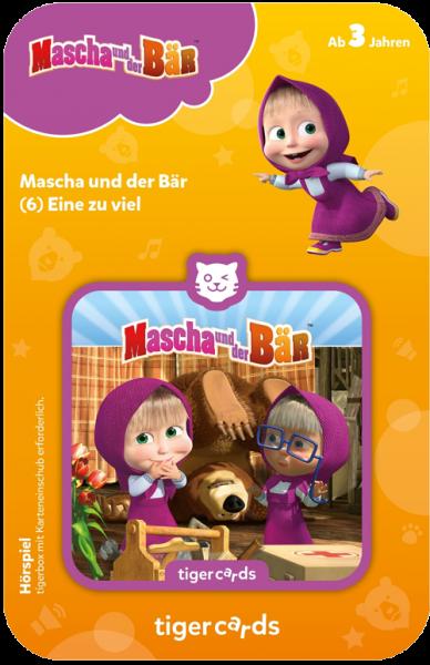 tigercard - Mascha und der Bär (6): Eine zu viel