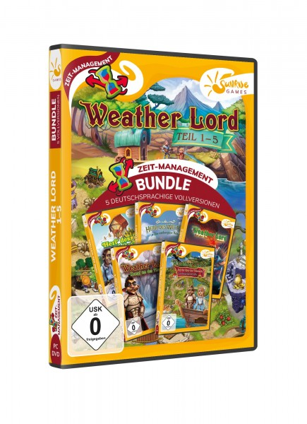 Sunrise Games: Weather Lord 1-5