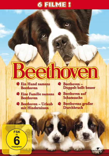 Beethoven - 6 Movie-Set/Teil 1-6