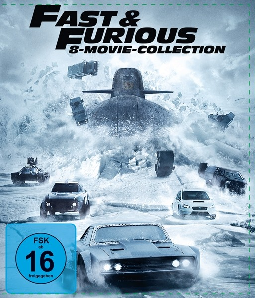 Fast & Furious 1-8-8-Movie Collection