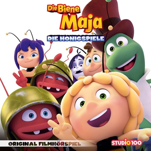 Die Biene Maja - Die Honigspiele (Original Hörspiel zum Kinofilm)