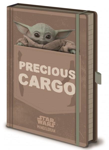 Notizbuch Mandalorian Baby Yoda (Precious Cargo)