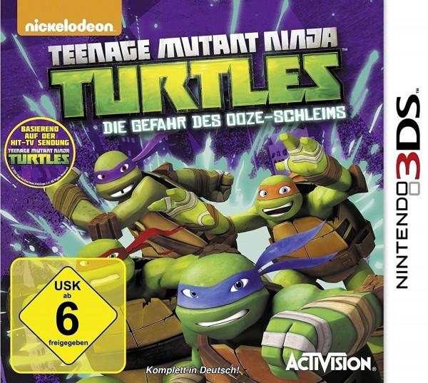 Teenage Mutant Ninja Turtles - Die Gefahr des Ooze-Schleims (inkl. DVD)