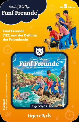 tigercard - Fünf Freunde (112): Und der Delfin in der Felsenbucht