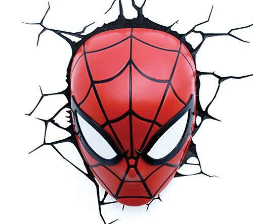 Lampe Marvel Spiderman Head 3D