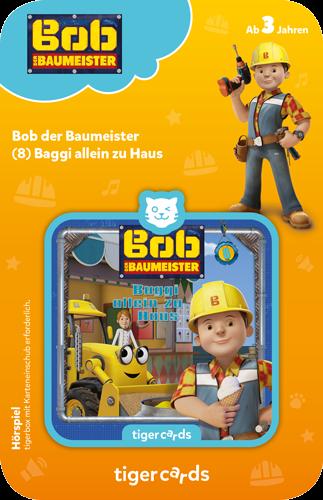 tigercard - Bob der Baumeister (8): Baggi allein zu Haus
