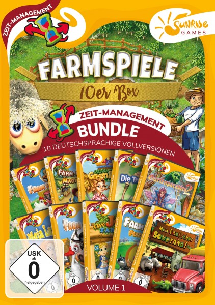 Sunrise Games - FARM SPIELE BOX VOL. 1