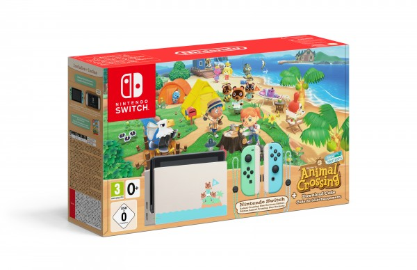 Nintendo Switch (Animal Crossing: New Horizons Edition)