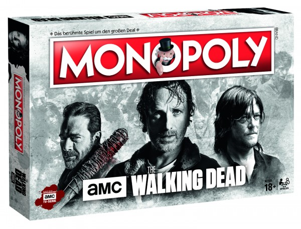 Monopoly The Walking Dead (AMC)