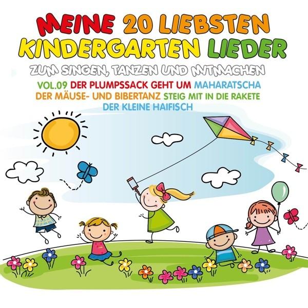 Meine 20 Liebsten Kindergarten Lieder Vol.9