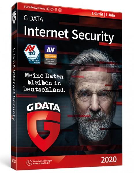 G DATA Internet Security 2020 (1 PC I 1 Jahr)