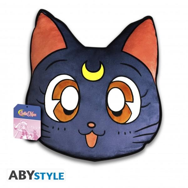 Kissen Sailor Moon Luna (Katze)