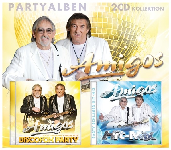 Amigos - Partyalben - 2 CD Kollektion