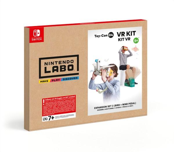 Nintendo Labo - Toy-Con 04 VR-Kit Erweiterungspaket 2 (Vogel + Windpedal)