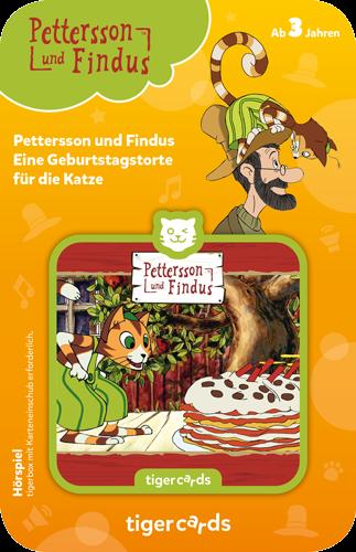 tigercard - Pettersson & Findus: Eine Geburtstagstorte für die Katze