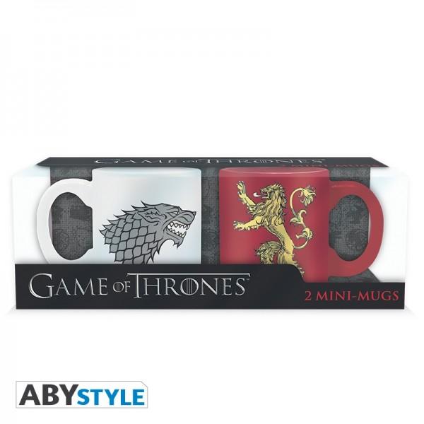 Tasse Game of Thrones Espresso 2er-Set