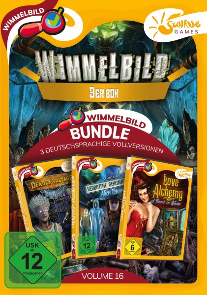 Sunrise Games - Wimmelbild 3ER BUNDLE 16