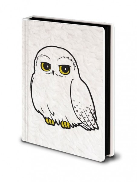 Notizbuch Harry Potter - Hedwig Fluffy Premium A5