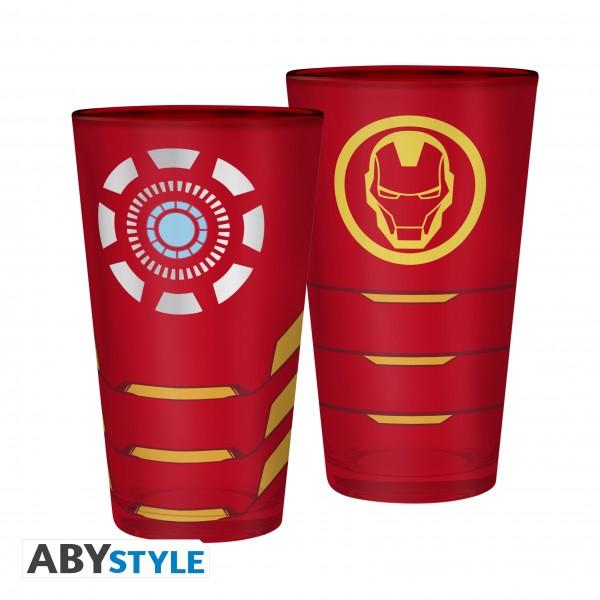 Glas Marvel Iron Man 400ml