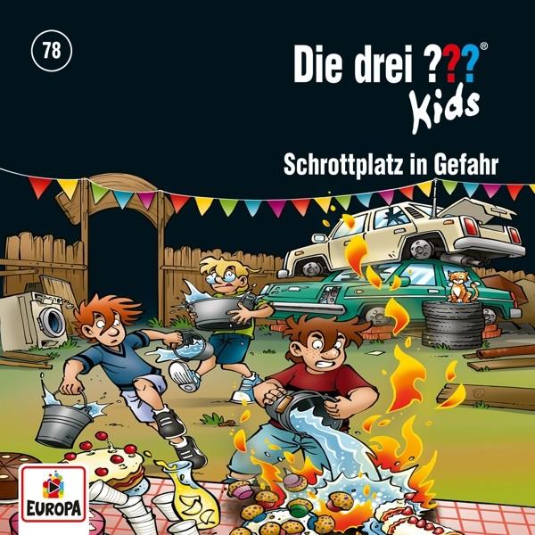 Die drei ??? Kids - 078/Schrottplatz in Gefahr
