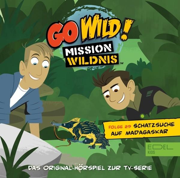 Go Wild!-Mission Wildnis - Schatzsuche Auf Madagaskar (29)-Hörspiel