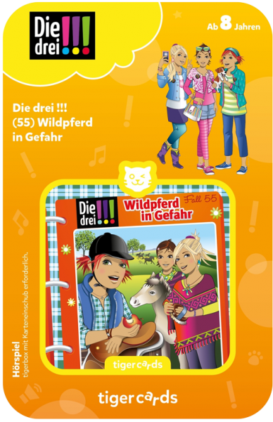 tigercard - Die drei !!! (55): Wildpferd in Gefahr