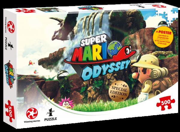 Puzzle - Super Mario Odyssey Fossil Falls (500 Teile)