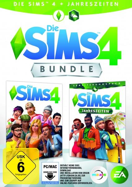 Sims 4 inkl. Jahreszeiten (Code in a box)