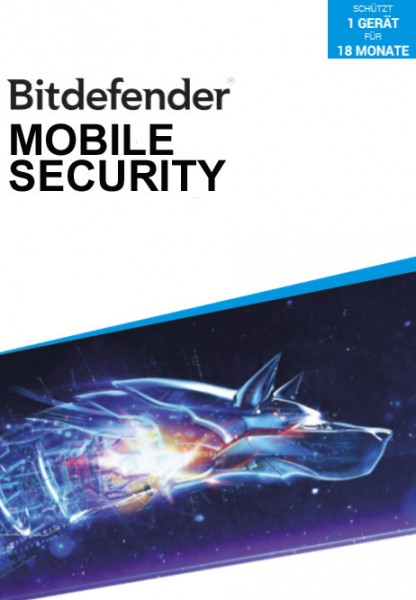 Bitdefender Mobile Security 2020 (1 Gerät / 18 Monate)