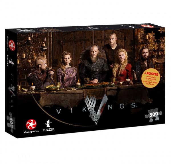 Puzzle - Vikings Ragnar's Court (500 Teile)