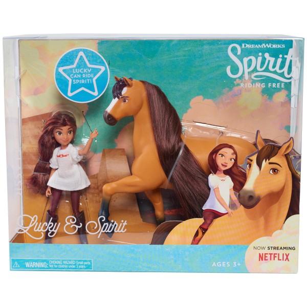 Spirit Collector Doll and Horse- Spirit and Lucky