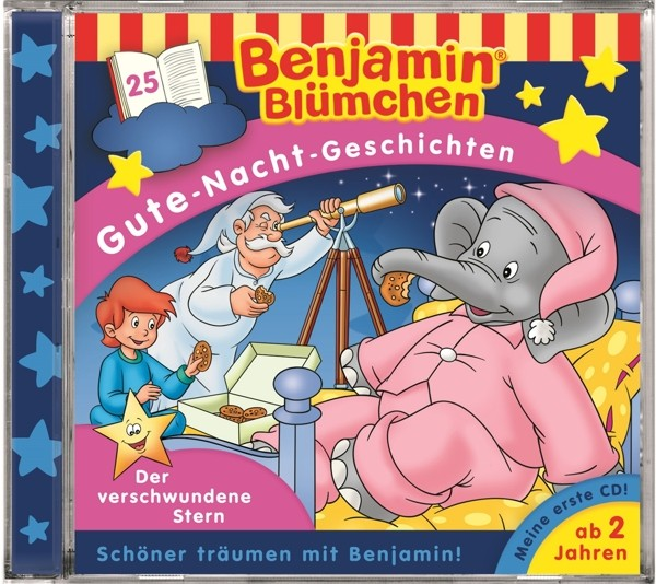 Benjamin Blümchen - Folge 25: Der verschwundene Stern