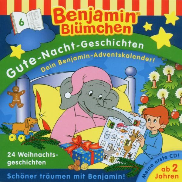Benjamin Blümchen/Gute-Nacht-Geschichten - Folge 6: 24 Weihnachtsgeschichten