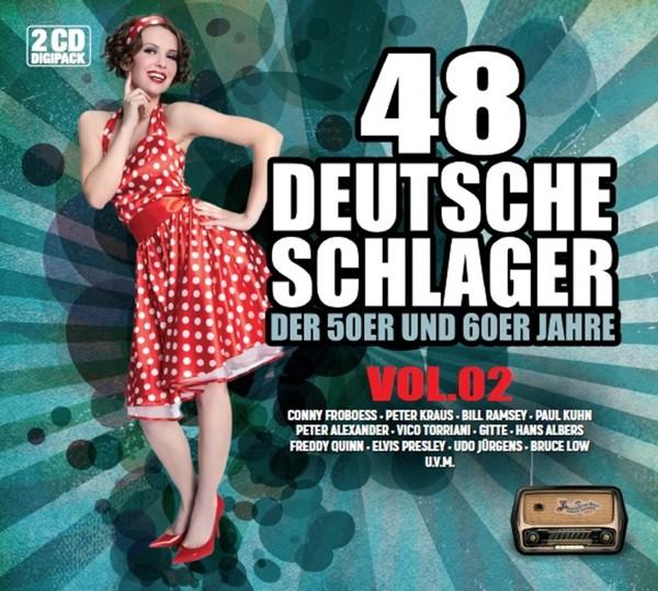 48 Deutsche Schlager der 50er und 60er Jahre - Vol.2