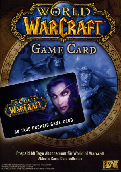 World of Warcraft - 60 Tage Timecard