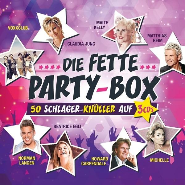 Various - Die Fette Party-Box - CD