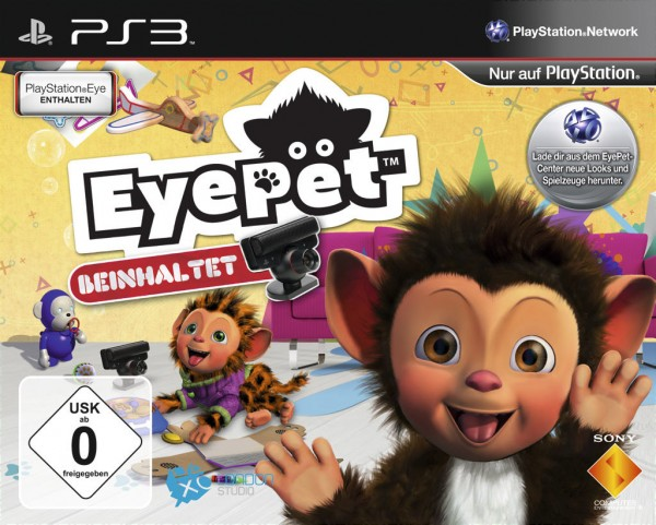 EyePet + EyeToy Kamera