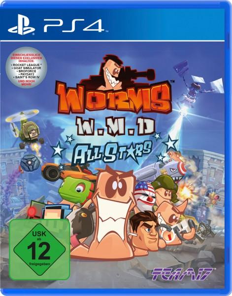 Worms W.M.D. All Stars - Weapons of Mass Destruction