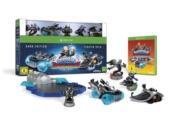 Skylanders Superchargers- Starter Set (Dark Edition)
