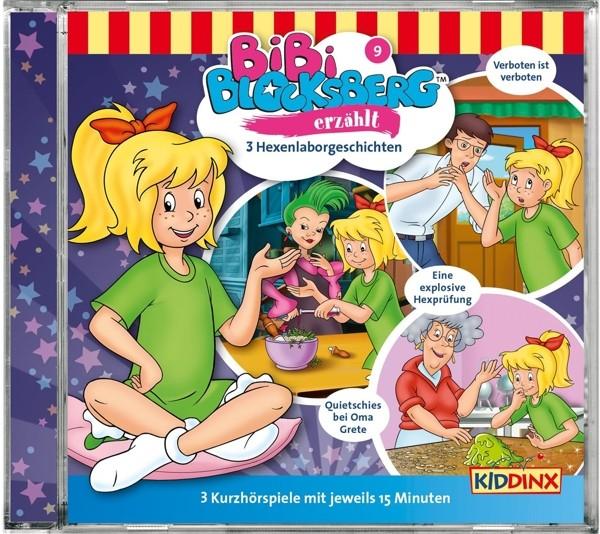 Bibi Blocksberg - Folge 9: Hexenlaborgeschichten - Compactdisc