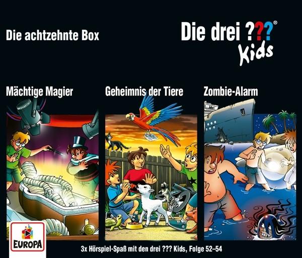 Die drei ??? Kids - 018/3er Box (Folgen 52,53,54)
