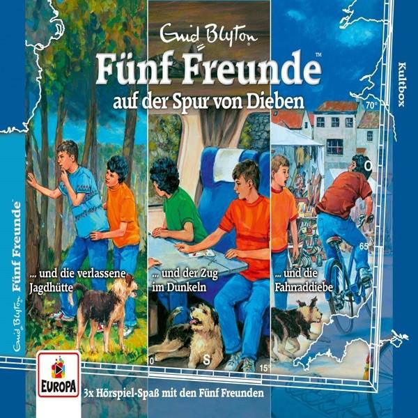 Fünf Freunde - 036/3er-Box-auf der Spur von Dieben