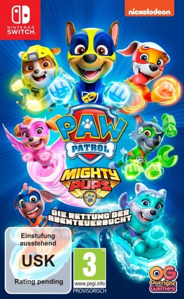PAW Patrol Mighty Pups: Die Rettung der Abenteuerbucht