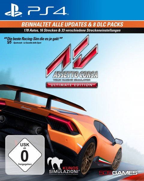 Assetto Corsa - Your Racing Simulator (Ultimate Edition)