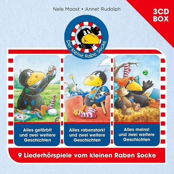 Der Kleine Rabe Socke - Hörspielbox Vol.2