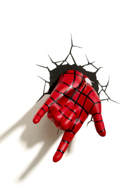 Lampe Marvel Spiderman 3D Hand