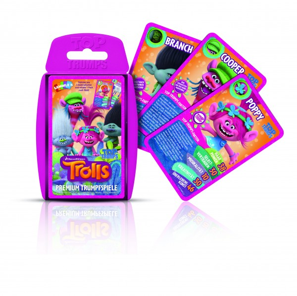 TOP TRUMPS - TROLLS
