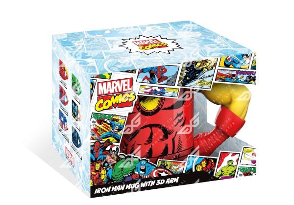 Tasse 3D Arm Iron Man