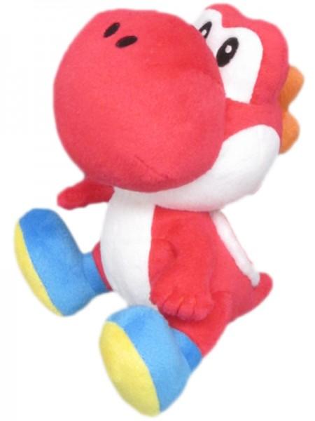 Nintendo Plüsch Yoshi, 17 cm, rot