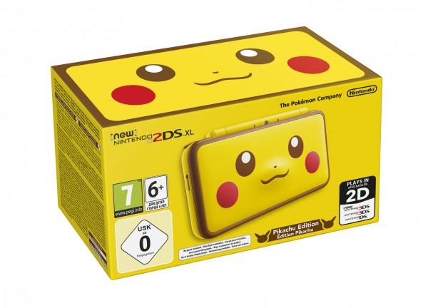 New 2DS XL - Pikachu Edition
